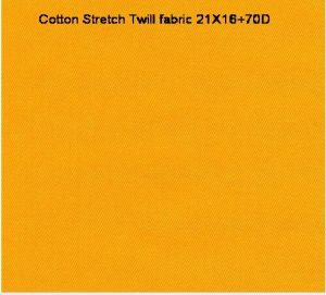 Cotton Spandex Stretch Twill Garment Fabric pictures & photos