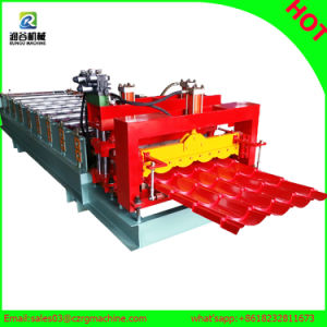 Building Materials Color Steel Roof Tile Panel Plate Roll Forming Making Machine pictures & photos