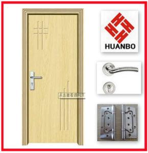 2014 New Design PVC Interior MDF Doors Hb-142