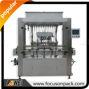Automatic Linear Gravity Liquid Filling Machine pictures & photos