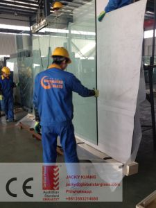 4-6mm White Painted Glass with Vinyl Back Cati/Catii Used for Sliding Door pictures & photos