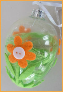 New Design Factory Wholesale Hand Painted Glass Egg pictures & photos
