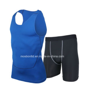 Custom Compression Tops Triathlon Tops with Tri Shorts/Tri Singlet/Tank Tops pictures & photos