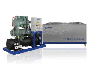 4 Tons Container Block Ice Maker With10kg Ice Block for Hot Sale pictures & photos