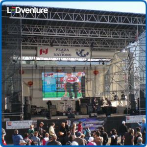 Outdoor Full Color Large LED Screen Rental pictures & photos