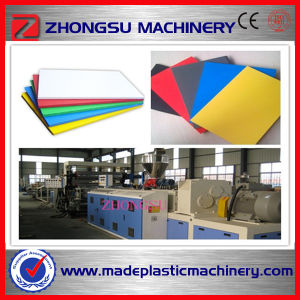 Low Powder Consumption PVC Advertisement Sheet Extruding Machine pictures & photos