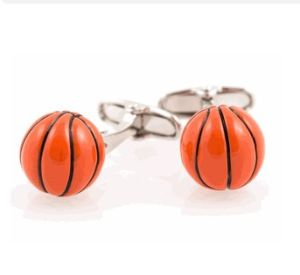 Novelty Basket Ball Cufflinks Chj 2014032