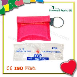 Disposable Medical Emergency CPR Pocket Mask With A Bag pictures & photos