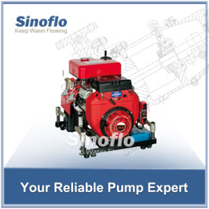 24HP Portable Gasoline Engine Self-priming Fire Water Pump pictures & photos