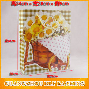 Customize Grocery Carrier Packaging Paper Gift Bag Shopping pictures & photos