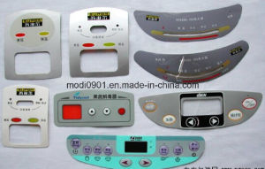 High Quality Tactile Membrane Switch Keypad Nameplate Membrane Panel Overlap Decal pictures & photos
