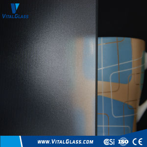 3-6mm Ultra Clear Mistlile Patterned Glass with CE&ISO9001 pictures & photos
