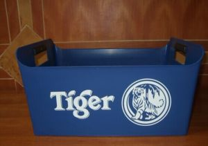 Plastic Ice Bucket with Custom Logo Printing pictures & photos