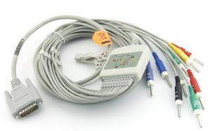 ECG Cable with Leads Compatible with Nihon Kolden pictures & photos