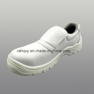 Professional White Micro Fiber Safety Shoes (HQ05023) pictures & photos