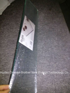 50X200mm Acid Etched Glass with Flat Polished Edge pictures & photos