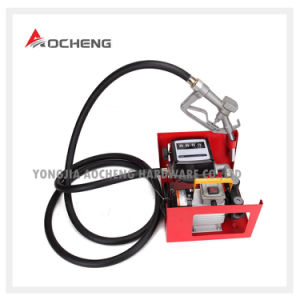 Electric Oil Fuel Bio Diesel Gas Transfer Pump Meter + 12′ Hose & Nozzle 110V pictures & photos