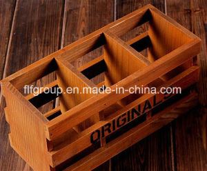 Retro Design Wooden Tray in Customized Size and Logo pictures & photos