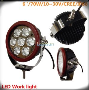 Multipurpose 70W LED Work Light 100%Waterproof IP68 pictures & photos