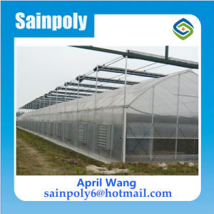Low Price Easily Installed Plastic-Film Greenhouse for Agricultural pictures & photos