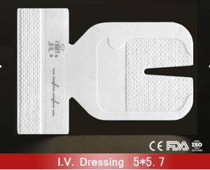 Transparent IV Dressing with Size 5cm*5.7cm and Paper Frame pictures & photos