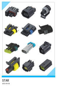 Universal 2-3pin Male and Female Connector pictures & photos