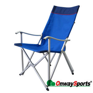 Strong Aluminum Outdoor Camping Foldable Lounge Chair