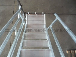 Aluminium Scaffolding Stair System with Smart Design pictures & photos