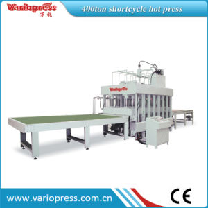 Shortcycle Hot Press Machine/Automatic Loading and Unloading Hot Press pictures & photos