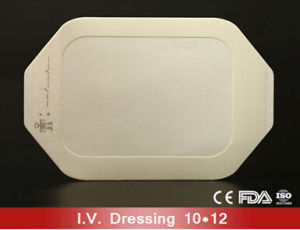 Disposable 10cm*12cm Transparent IV Wound Dressing pictures & photos