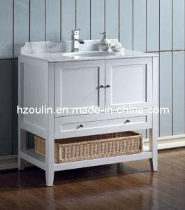 White Single Sink Bathroom Vanity (BA-1116) pictures & photos