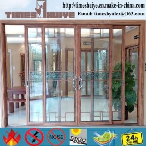 China Factory Haocai Aluminum Sliding Doors Profile Frame pictures & photos