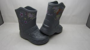 OEM Printing EVA/Rubber Rain Boots for Children (21zx1001) pictures & photos