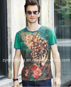 New Arrival, Printing Cotton T-Shirt pictures & photos