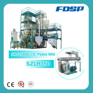 China Qualified Suppliers Cow Feed Pellet Mill Processing Production Line pictures & photos