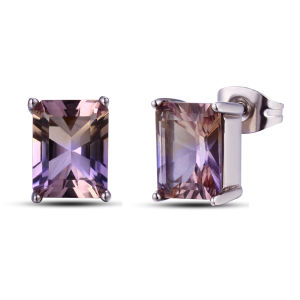 Luxury Fashion Jewelry Amethyst Crystal Earrings pictures & photos