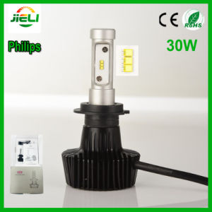 Philips 30W P83 H7 Car LED Headlight pictures & photos