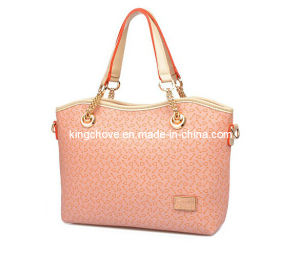 New Fashion Pink PU Designer Ladies Handbags (KCH119-4) pictures & photos