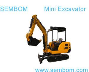 Multifunction Mini Excavator 2.2ton (SE22) for Farming, Civic Building, Gardening pictures & photos