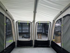 2 Front Door Caravan Porch Awning Inflatable Caravan Air Camping Tube Camper Tent for RV pictures & photos