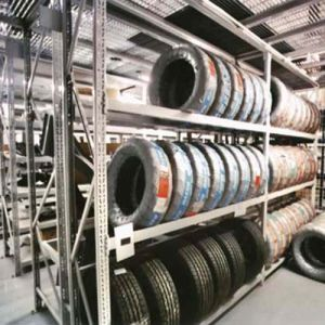Folding Commercial Stacking Warehouse Tire Storage Metal Rack pictures & photos