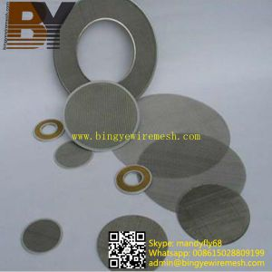 Stainless Steel Wire Mesh Filter Cloth Cutting Disc pictures & photos