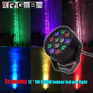 Eurolite Stage Party Disco DJ Effect 12X1w RGBW LED PAR Can Light pictures & photos