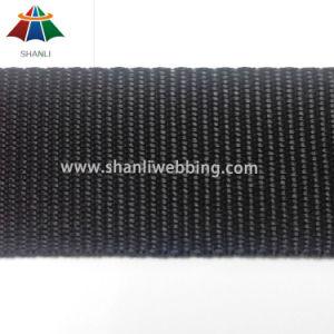 37mm Plain Weave Black Polypropylene Webbing pictures & photos