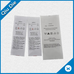 Customized Cheap Washing Printing Label for Apparel Fabric pictures & photos