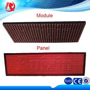 Outdoor LED Sign/LED Screen/LED Billboard Digital Scrolling Text LED Display Board P10 LED Display Module pictures & photos