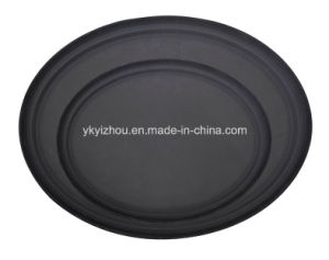 Ellipse Fiberglass Non Slip Food Serving Tray pictures & photos