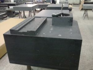 Granite Machine Base for Machinery pictures & photos