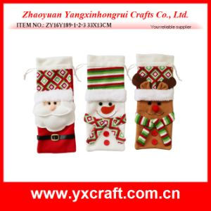 Christmas Decoration (ZY16Y189-1-2-3 33X13CM) Christmas Party Beer Decorations pictures & photos