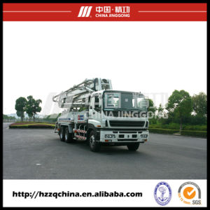 37m Isuzu Truck-Mounted Concrete Delivery Pump (HZZ5270THB) pictures & photos